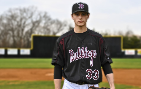 Bearden senior Lane Thomas (pictured here before his sophomore season) has joined the USA national team for the Under-18 Baseball World Cup in Taiwan.