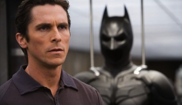 By the look on his face, Christian Bale clearly can't believe anybody would think Ben Affleck was the right choice to replace him.