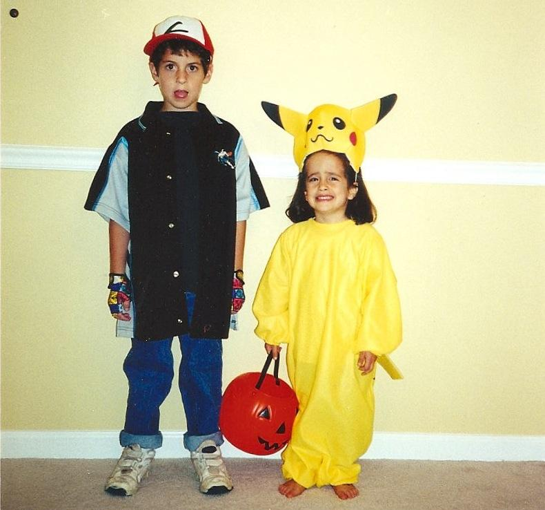 Entertainment+editor+Hannah+McElroy+and+her+big+bro+were+ready+for+trick-or-treating+or+a+Nintendo+convention%2C+not+sure+which.