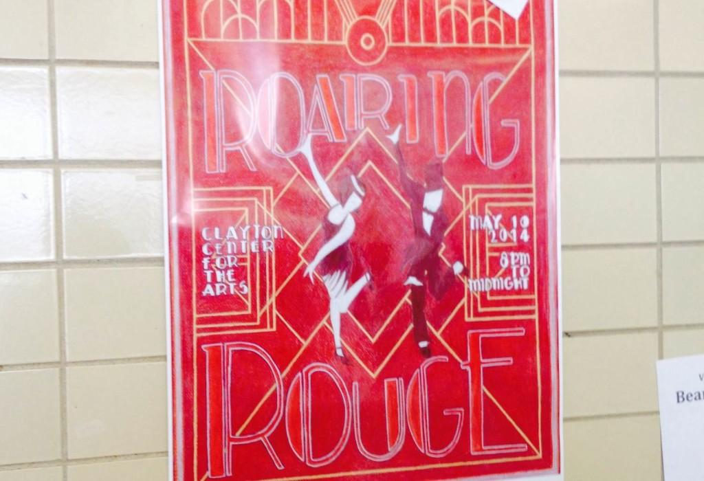 Sophomore Michaela Leib designed Bearden's prom poster.