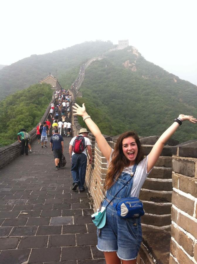 Bearden junior Lizzy Noon joined Sydney Gabrielson on a trip to China this summer.