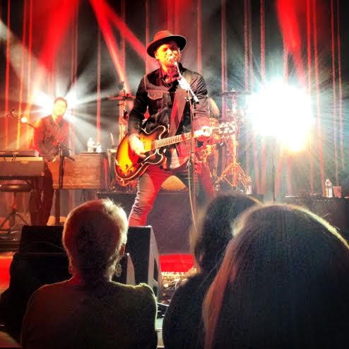 NeedToBreathe's Bear Rinehart plays at a concert that BHS junior Annie Smith attended.