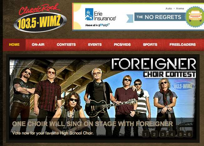 Off The Chain in contest to perform with classic rock icons Foreigner