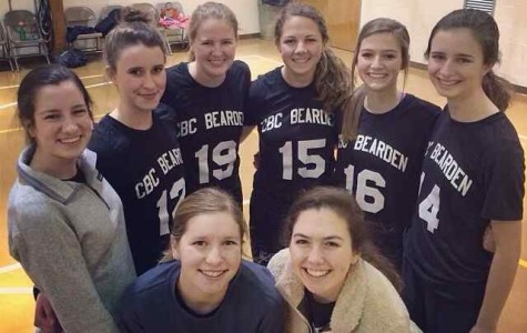 Bearden students on the CBC Ballers pose for a team photo.