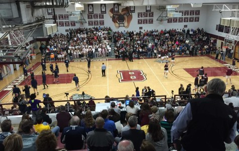 A packed house watched Bearden score two huge wins over Farragut on Friday night.