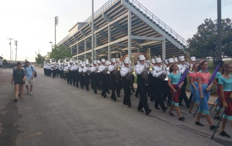 Bearden's band finally has their long-awaited new uniforms, and they're excited to break them in later in the season.