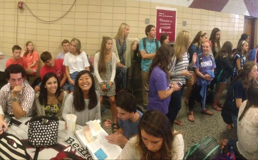 Bearden's SGA meets during advisory for the first time.