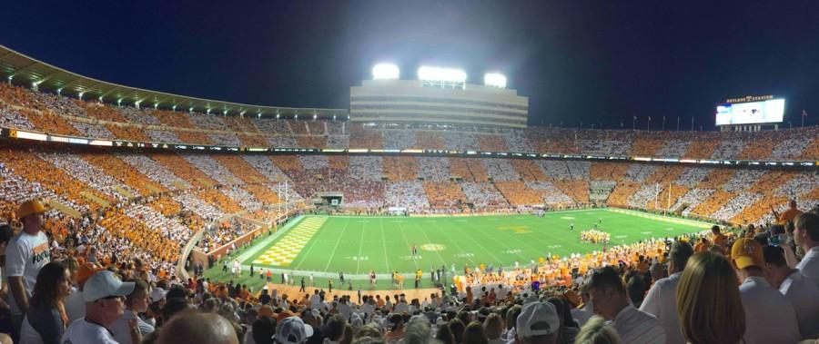 Checker Neyland is quickly becoming one of Knoxville's favorite game day traditions.
