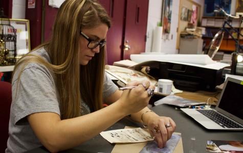Bearden art teacher Anna Boyd is pursuing another degree.