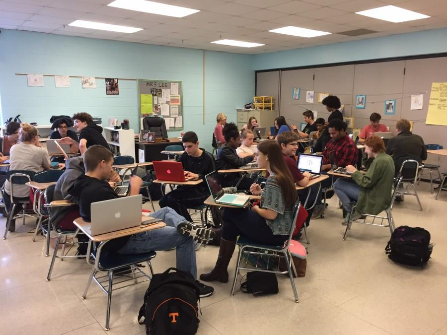 Bearden is hoping to see more full classrooms like this with this month's attendance incentive.