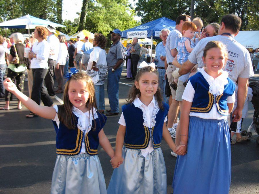 For+Bearden+students+in+the+St.+George+Greek+Orthodox+Church+community%2C+growing+up+at+Greek+Fest+is+a+family+tradition.