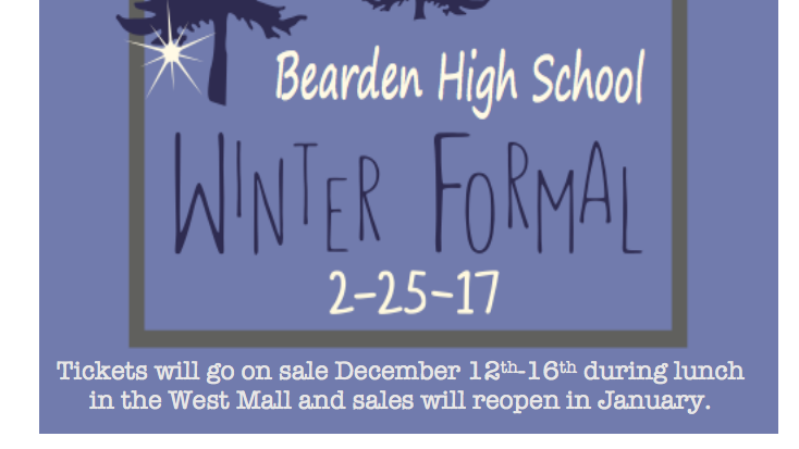 Key Club sponsoring Bearden's first Winter Formal