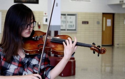 Sophomore violinist selected for All-State Orchestra for second year
