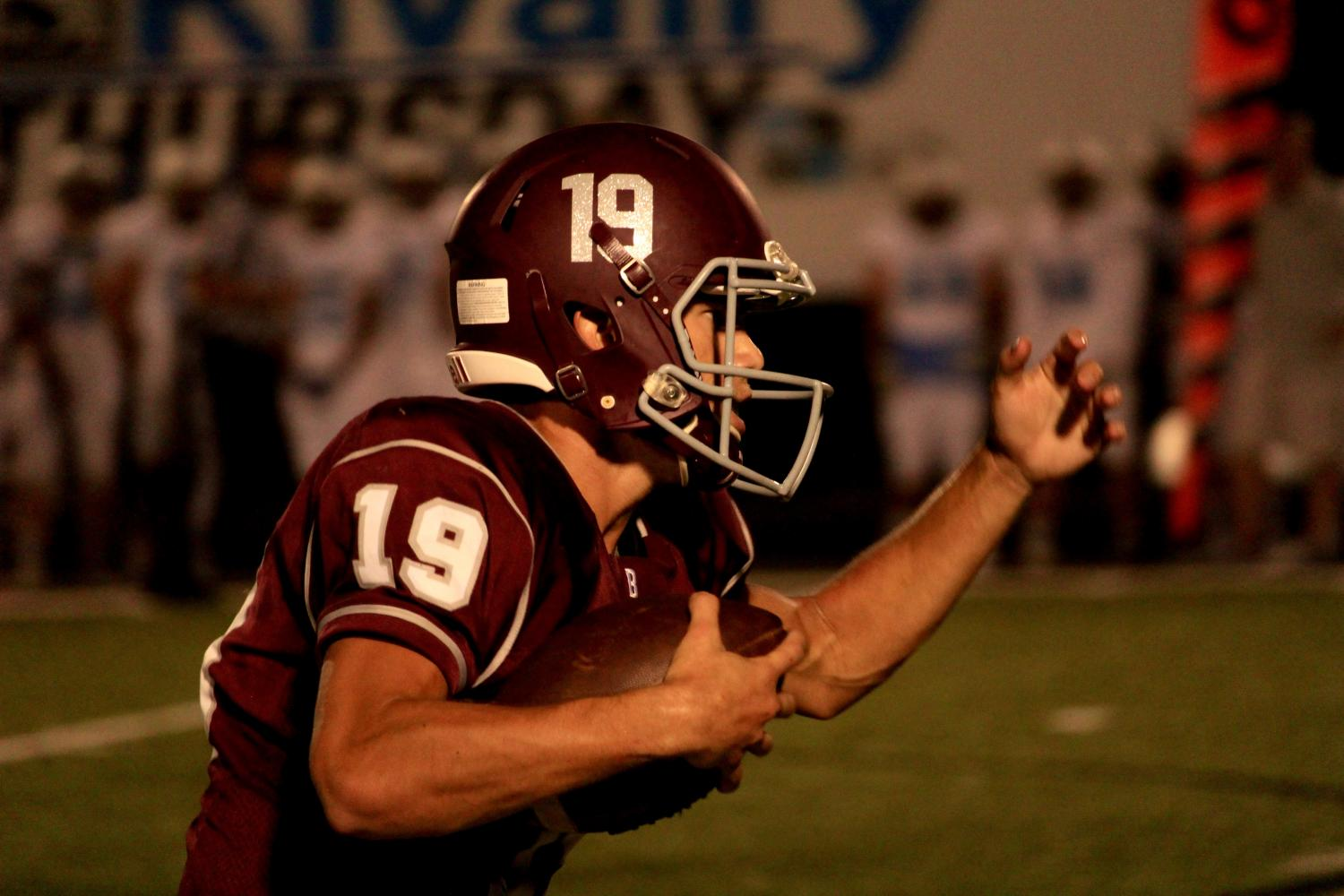 Dawson+Houser+started+his+junior+year+as+Bearden%27s+starting+quarterback.+He+enters+his+senior+season+as+one+of+the+team%27s+best+receivers+and+one+of+its+most+important+leaders.