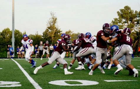 Bearden running game looking for more success at Science Hill