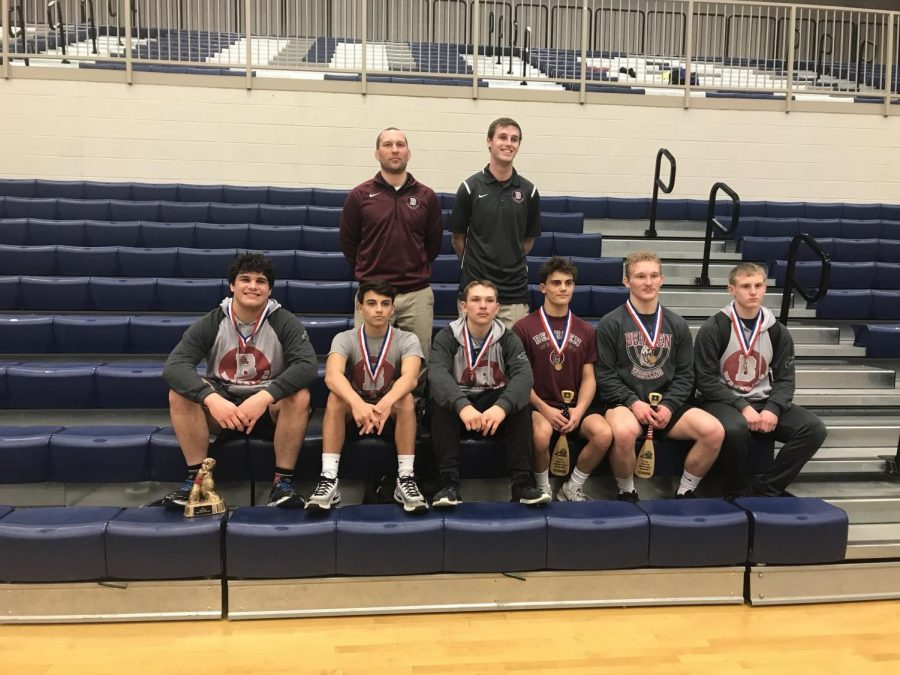 Burns%2C+Grayson+leading+Bearden+wrestlers+at+state+tournament