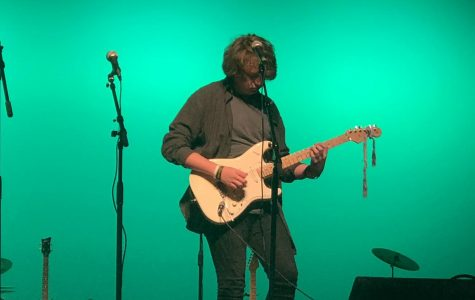 Sophomore guitarist takes home first place at Bearden's talent show
