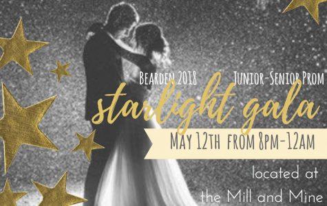 Prom committee reveals classy Starlight Gala theme