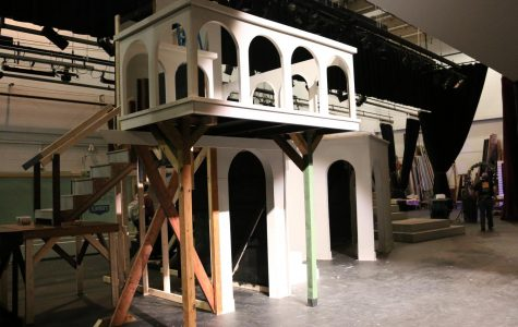Theatre department to incorporate multi-level set into 'Romeo and Juliet'