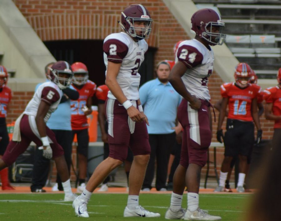 Collin Ironside returns as Bearden's starting quarterback, looking to improve from his big sophomore year, where he threw for nearly 2,000 yards.