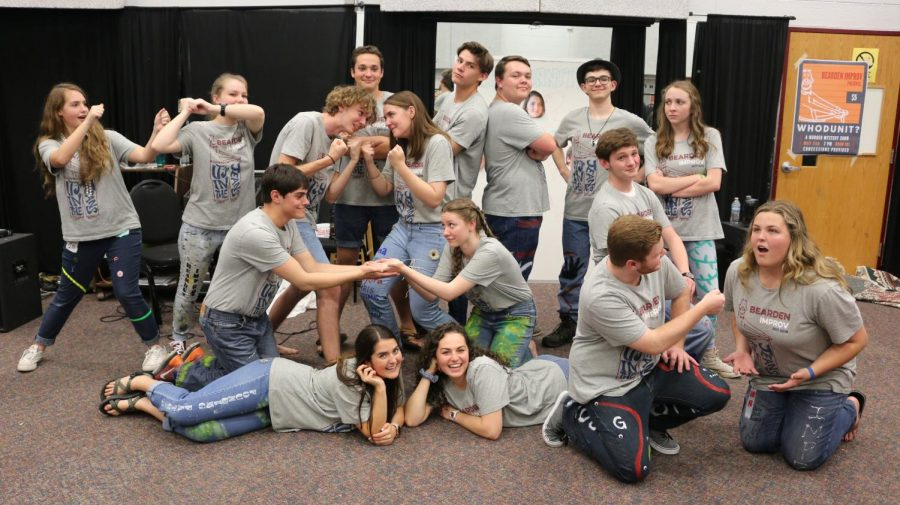 Last year's improv club started a new tradition at Bearden that this year's club hopes to continue.