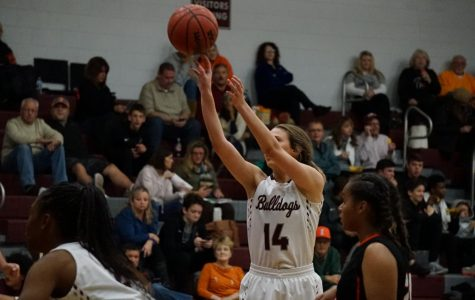 Sharp-shooting Hall steps up her scoring as a senior for Lady Bulldogs