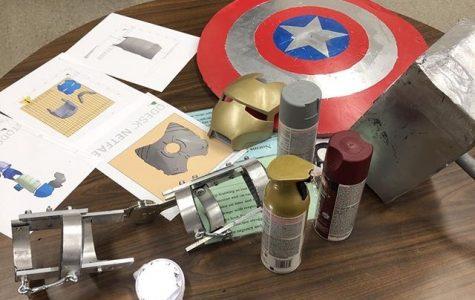 Bearden senior takes on unique challenge of recreating Marvel's Iron Man suit