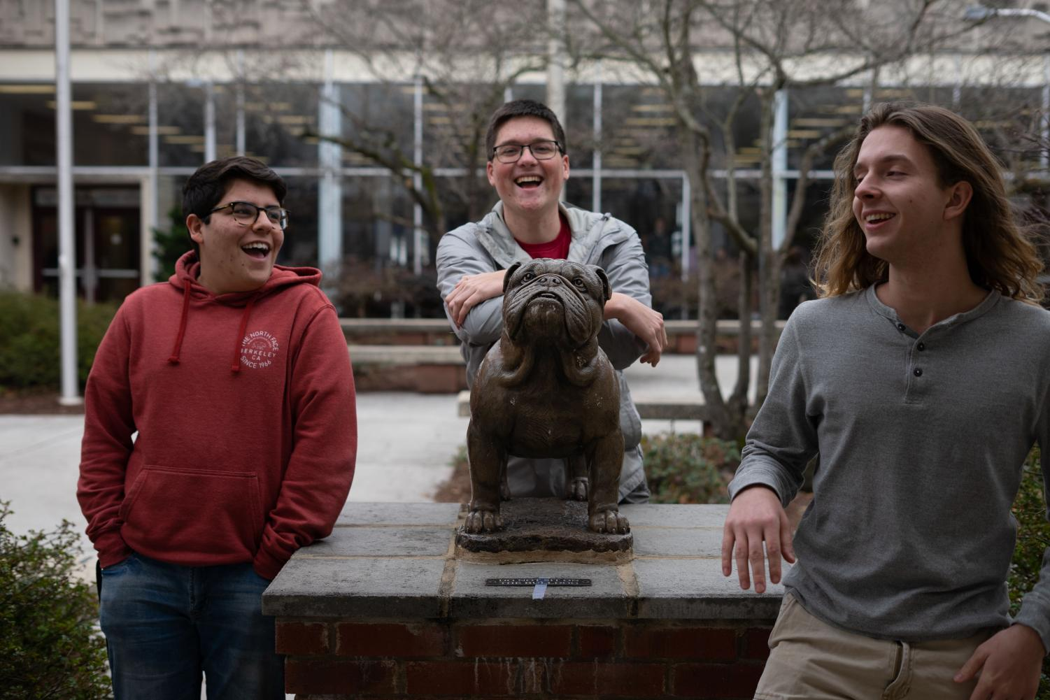 Dane Morgan (right) is Bearden's valedictorian for the Class of 2019. Hayden Harb and Parker Kent (left and middle) are co-salutatorians.