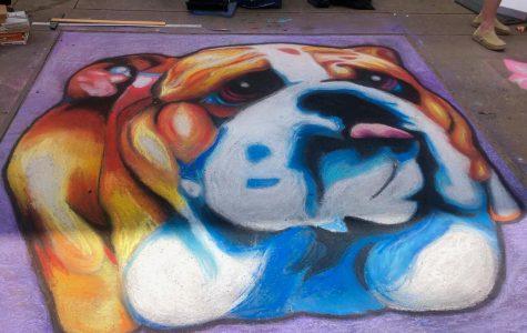 NAHS proudly represents Bearden community at Dogwood's Chalk Walk