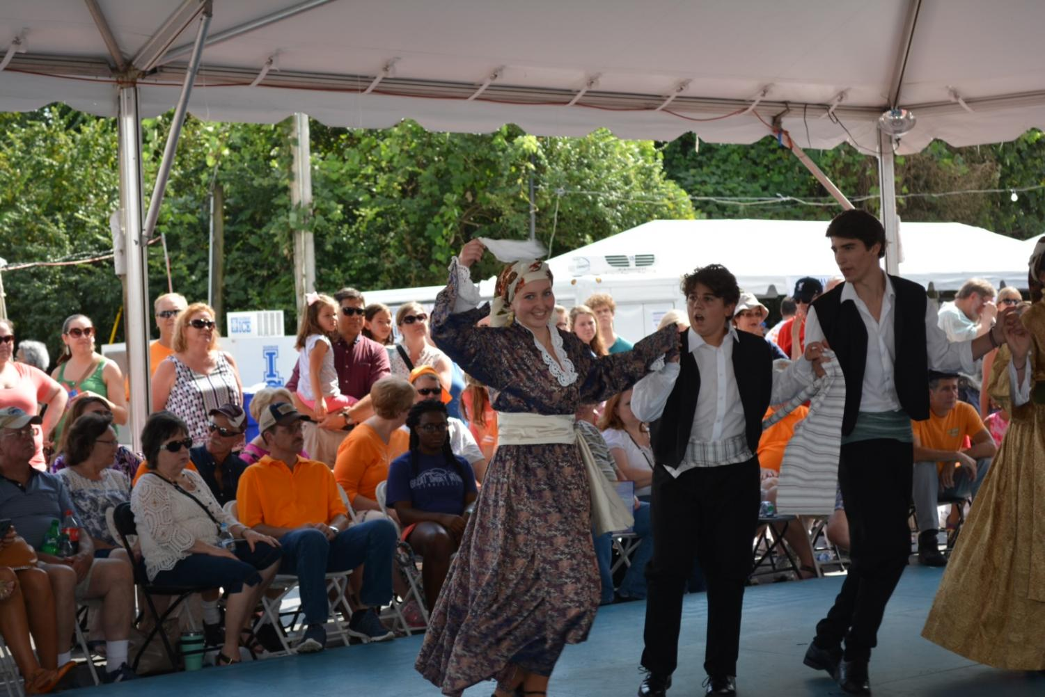 Bearden's Athena Marlar will dance at Greek Fest once again this year. The event starts Friday and runs throughout the weekend.
