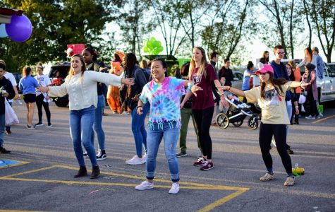 Bearden students participate in last year's Fall Festival.
