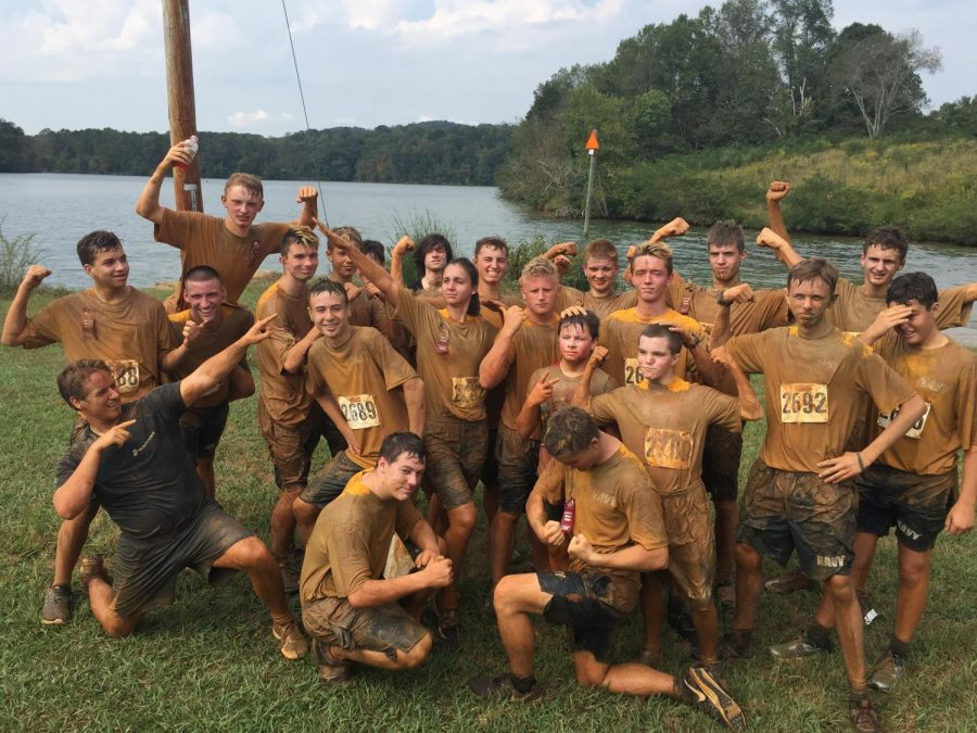 Bearden's NJROTC takes top team honors at Knoxville's 2019 Marine Mud Run