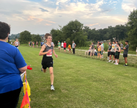 Freshman Cade Crum has been the leading runner for the boys cross country team so far this year.